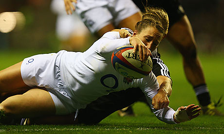 England Women against New Zealand Women
