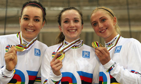 Great Britain's world team pursuit team