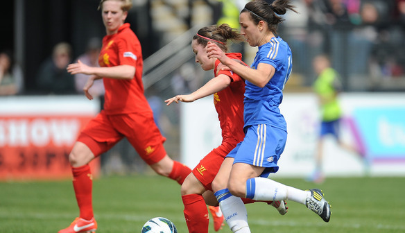 Chelsea Ladies FC v Liverpool Ladies FC - FA WSL Continental Cup