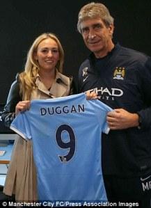 Toni Duggan - MCFC
